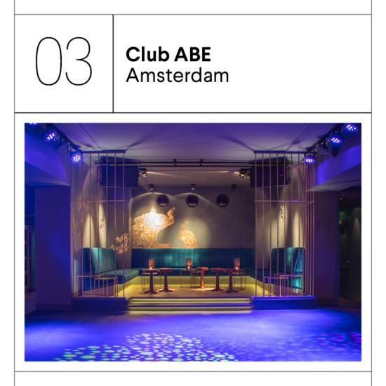 Club Abe Amsterdam Geur