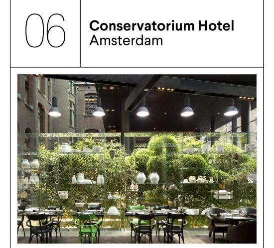 Conservatorium hotel geur