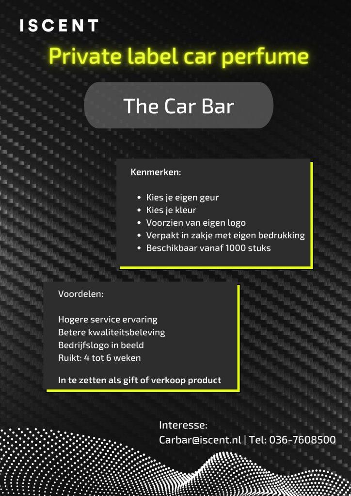 car perfume private label